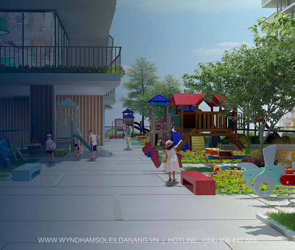 Khu vui chơi Dự án Wyndham Soleil Đà Nẵng – Căn hộ Soleil Ánh Dương Đà Nẵng