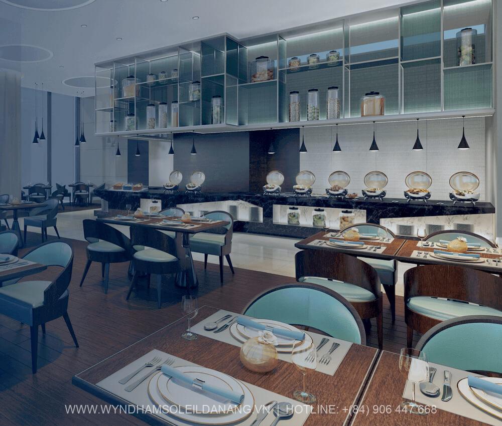 Nhà hàng Dự án Wyndham Soleil Đà Nẵng – Căn hộ Soleil Ánh Dương Đà Nẵng