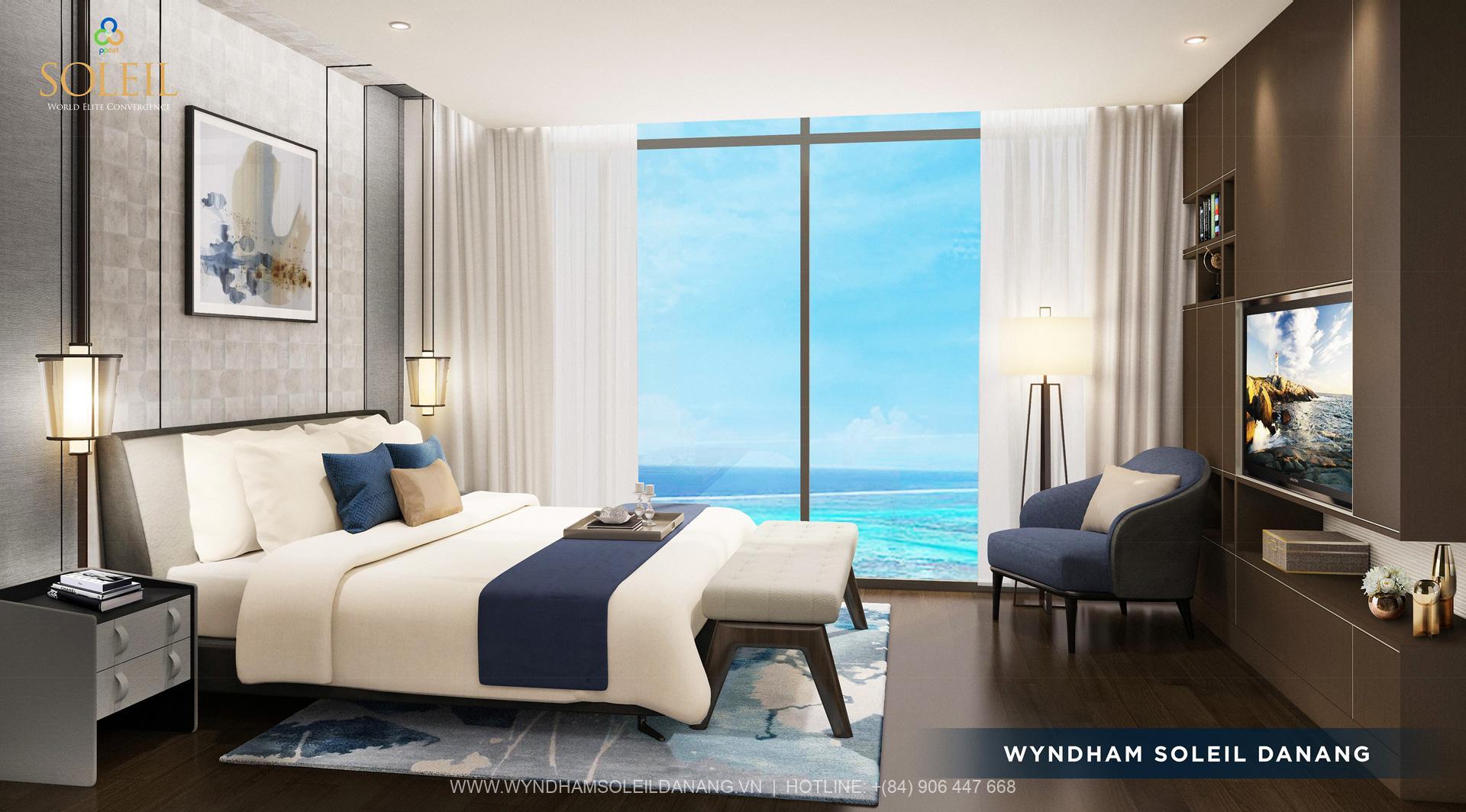 Nội thất căn hộ Wyndham Soleil Đà Nẵng