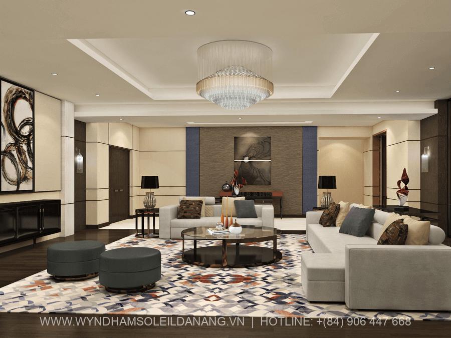 Căn hộ Penthouse Wyndham Soleil Đà Nẵng