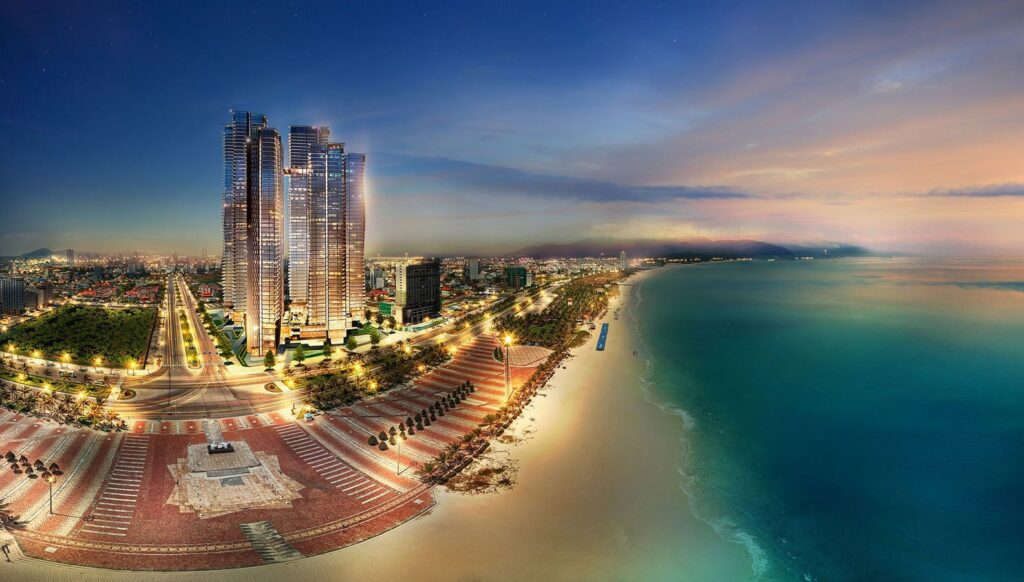 Phối cảnh dự án Wyndham Soleil Đà Nẵng
