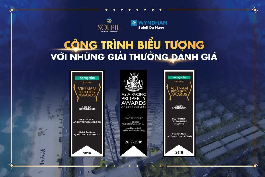Các giải thưởng danh giá của Wyndham Soleil Đà Nẵng