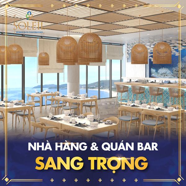Nhà hàng & quán Bar tại Wyndham Soleil Danang