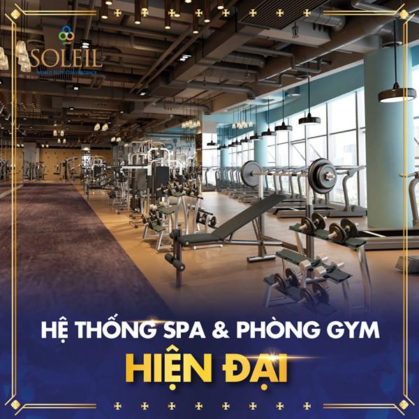Hệ thống Spa, Gym & Yoga tại Wyndham Soleil Danang