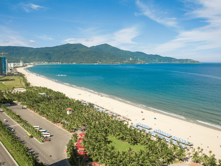 View hướng Đông Bắc từ dự án Wyndham Soleil Đà Nẵng