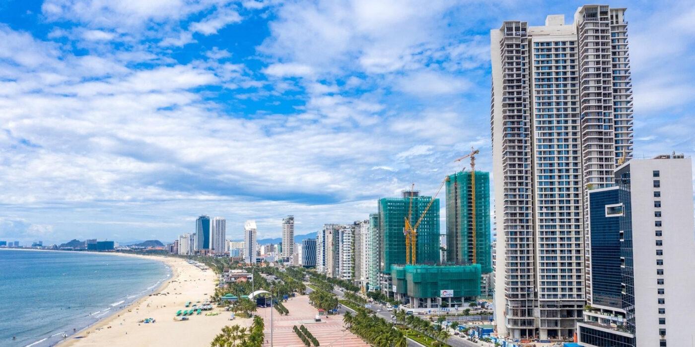 Bờ biển Mỹ Khê Đà Nẵng - Dự án Wyndham Soleil Danang