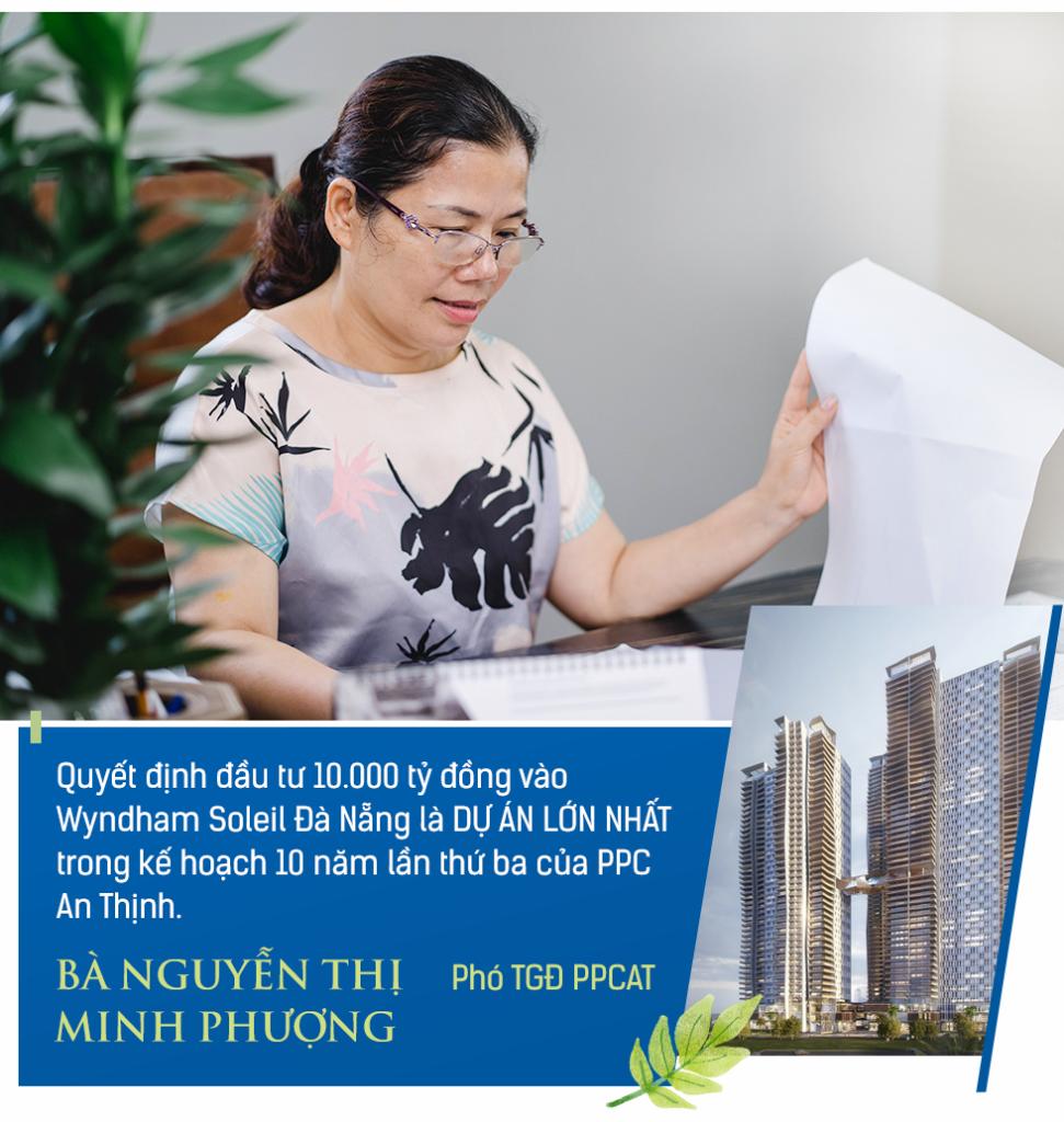 Bà Nguyễn Thị Minh Phượng - Phó Tổng Giám đốc PPCAT