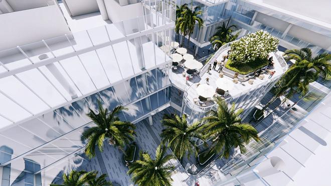 Tiện ích Vườn trên không dự án Wyndham Soleil Danang