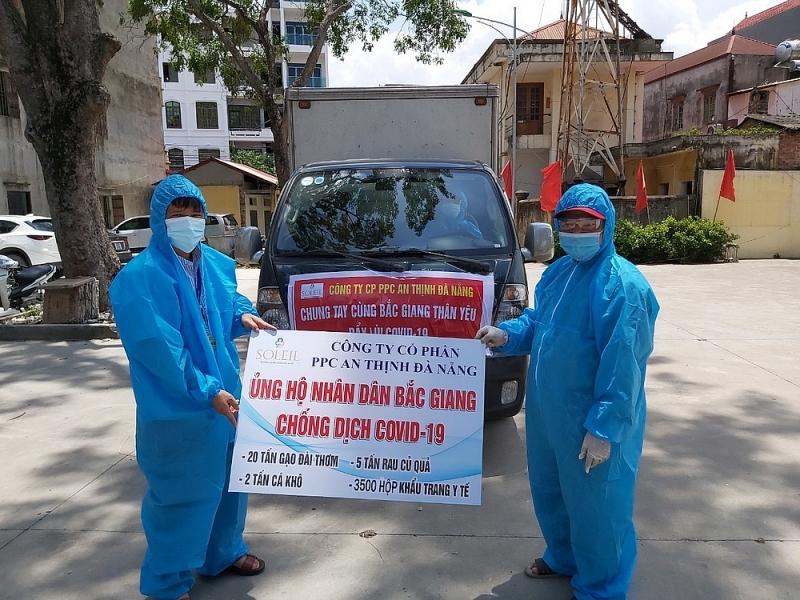 PPC An Thịnh Đà Nẵng chung tay cùng Bắc Giang chống dịch Covid-19