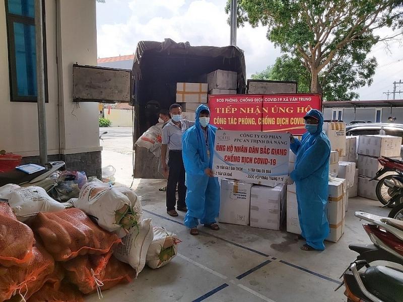 PPC An Thịnh Đà Nẵng ủng hộ nhân dân Bắc Giang chống dịch Covid-19